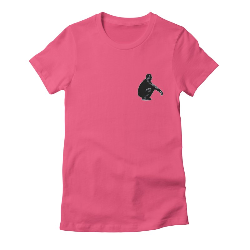 The Slavic Squat - Pocket Slav (without logo) Women's Fitted T-Shirt by SlavicStyle