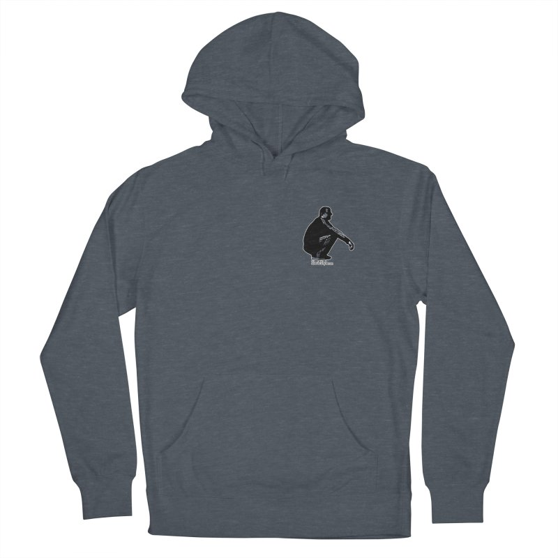 The Slavic Squat - Pocket Slav (with logo) Women's French Terry Pullover Hoody by SlavicStyle
