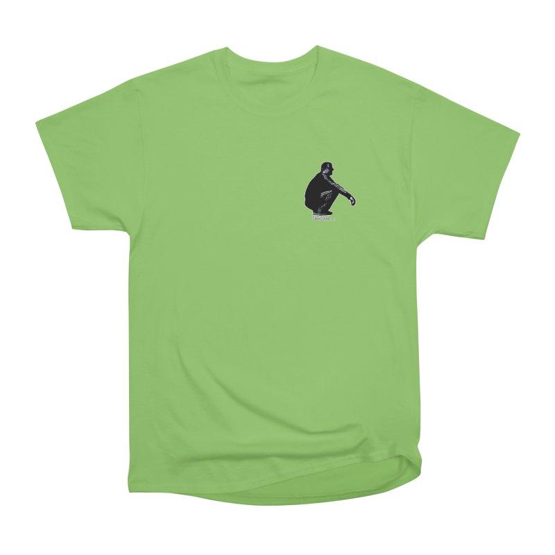 The Slavic Squat - Pocket Slav (with logo) Men's Heavyweight T-Shirt by SlavicStyle