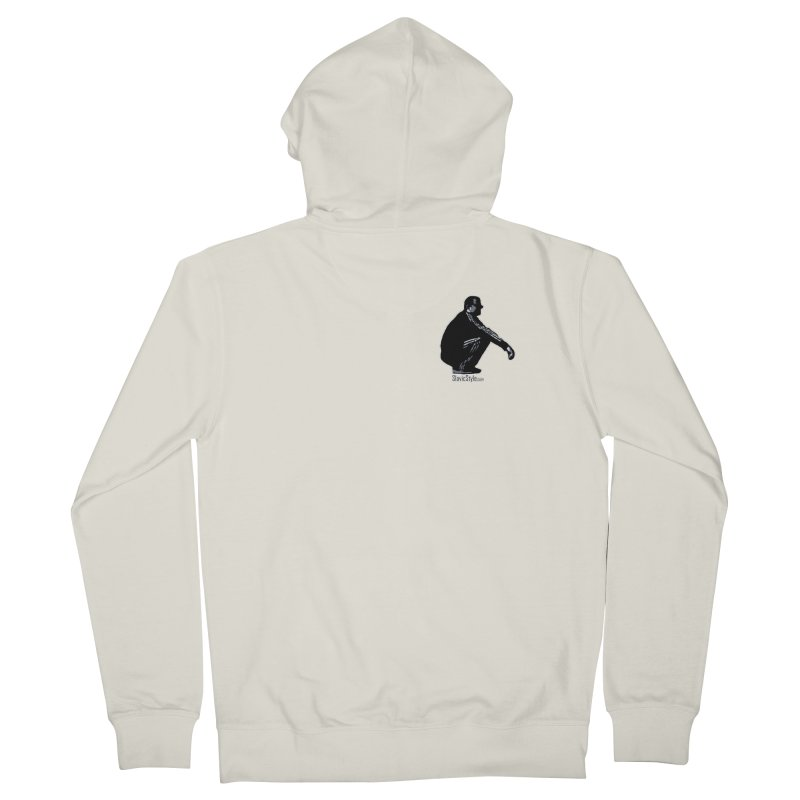 The Slavic Squat - Pocket Slav (with logo) Women's French Terry Zip-Up Hoody by SlavicStyle