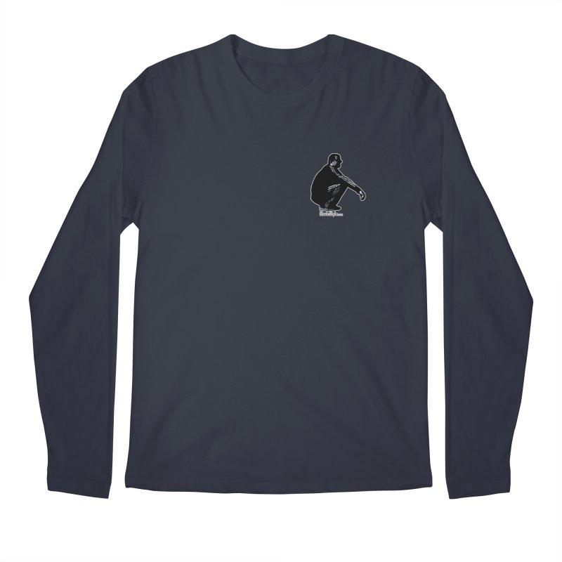 The Slavic Squat - Pocket Slav (with logo) Men's Longsleeve T-Shirt by SlavicStyle
