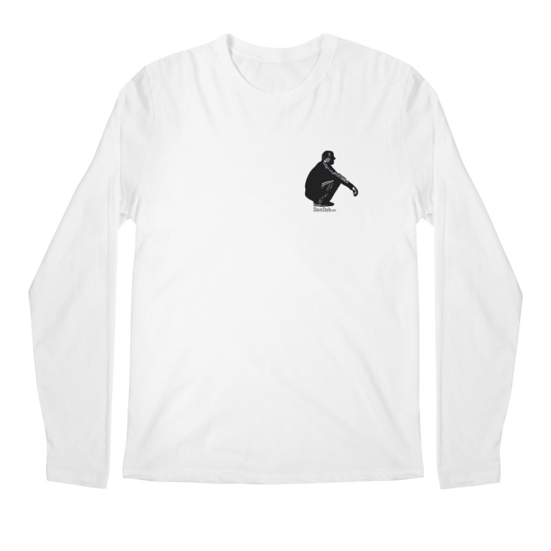 The Slavic Squat - Pocket Slav (with logo) Men's Regular Longsleeve T-Shirt by SlavicStyle