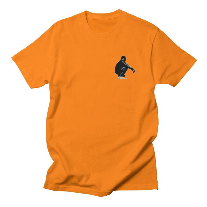 The Slavic Squat - Pocket Slav (with logo) Men's Regular T-Shirt by SlavicStyle
