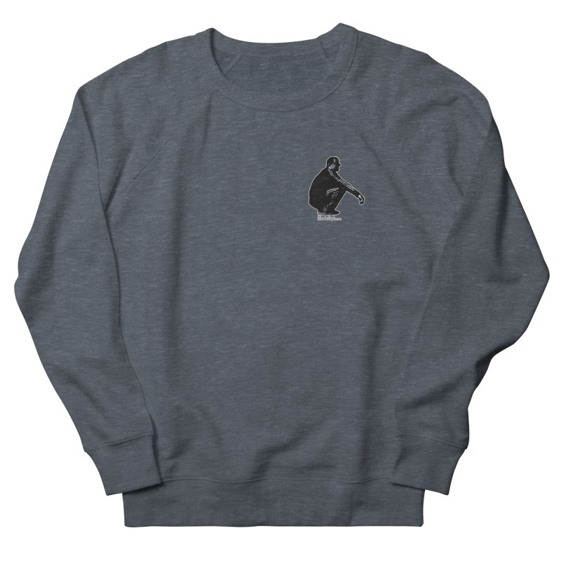 The Slavic Squat - Pocket Slav (with logo) Men's French Terry Sweatshirt by SlavicStyle