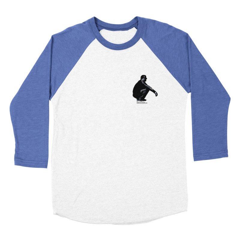 The Slavic Squat - Pocket Slav (with logo) Women's Baseball Triblend T-Shirt by SlavicStyle