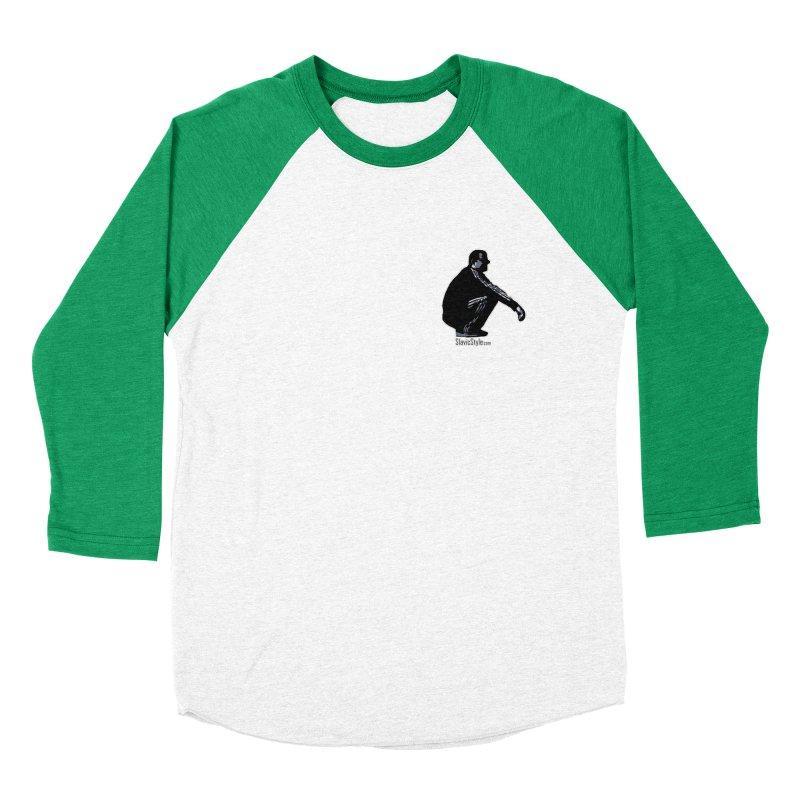 The Slavic Squat - Pocket Slav (with logo) Men's Baseball Triblend T-Shirt by SlavicStyle