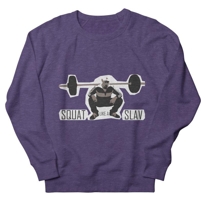 Squat Like a Gym Slav Men's Sweatshirt by SlavicStyle