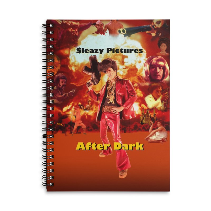 Sleazy Pictures After Dark Accessories Lined Spiral Notebook by sleazy p martini's Artist Shop