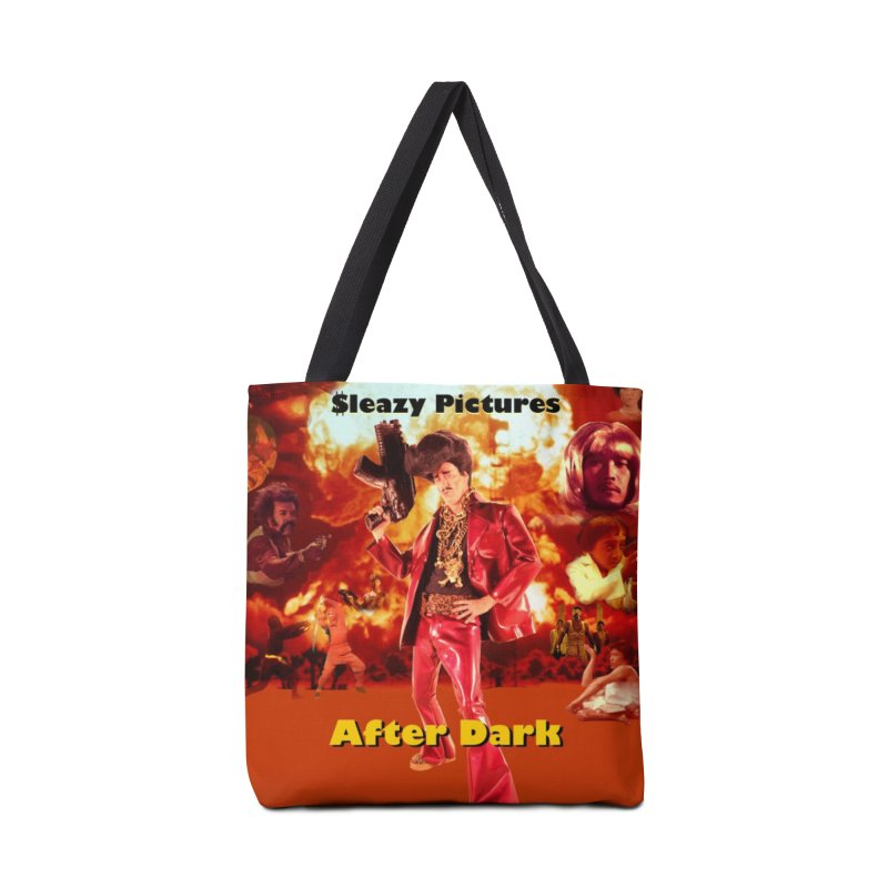 Sleazy Pictures After Dark Accessories Tote Bag Bag by sleazy p martini's Artist Shop