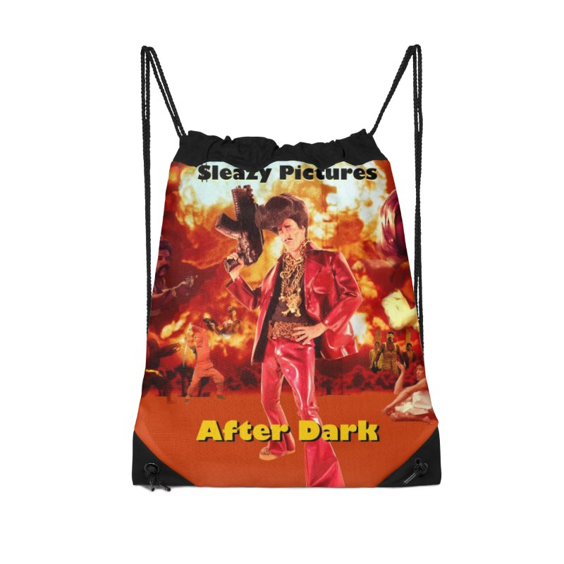 Sleazy Pictures After Dark Accessories Drawstring Bag Bag by sleazy p martini's Artist Shop