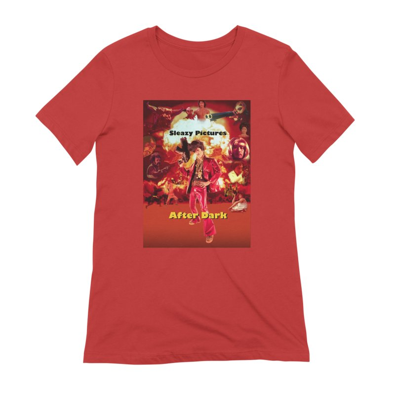 Sleazy Pictures After Dark Women's Extra Soft T-Shirt by sleazy p martini's Artist Shop