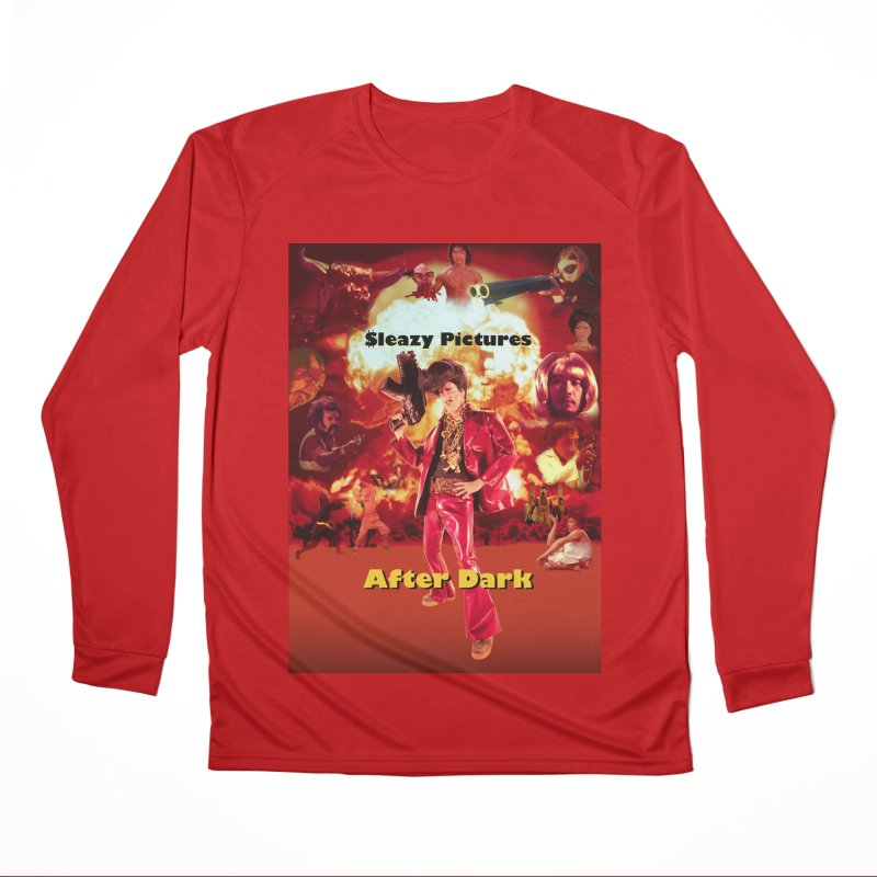 Sleazy Pictures After Dark Men's Performance Longsleeve T-Shirt by sleazy p martini's Artist Shop