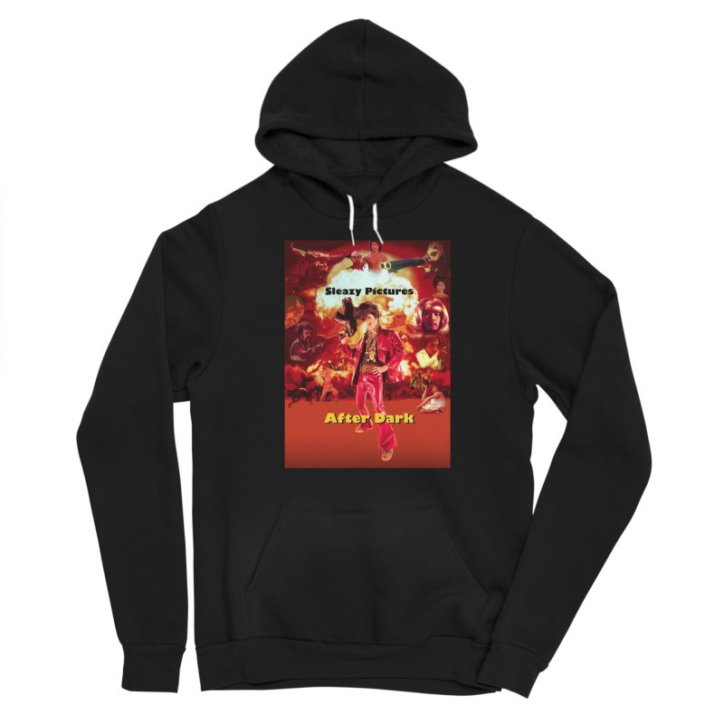 Sleazy Pictures After Dark Women's Sponge Fleece Pullover Hoody by sleazy p martini's Artist Shop