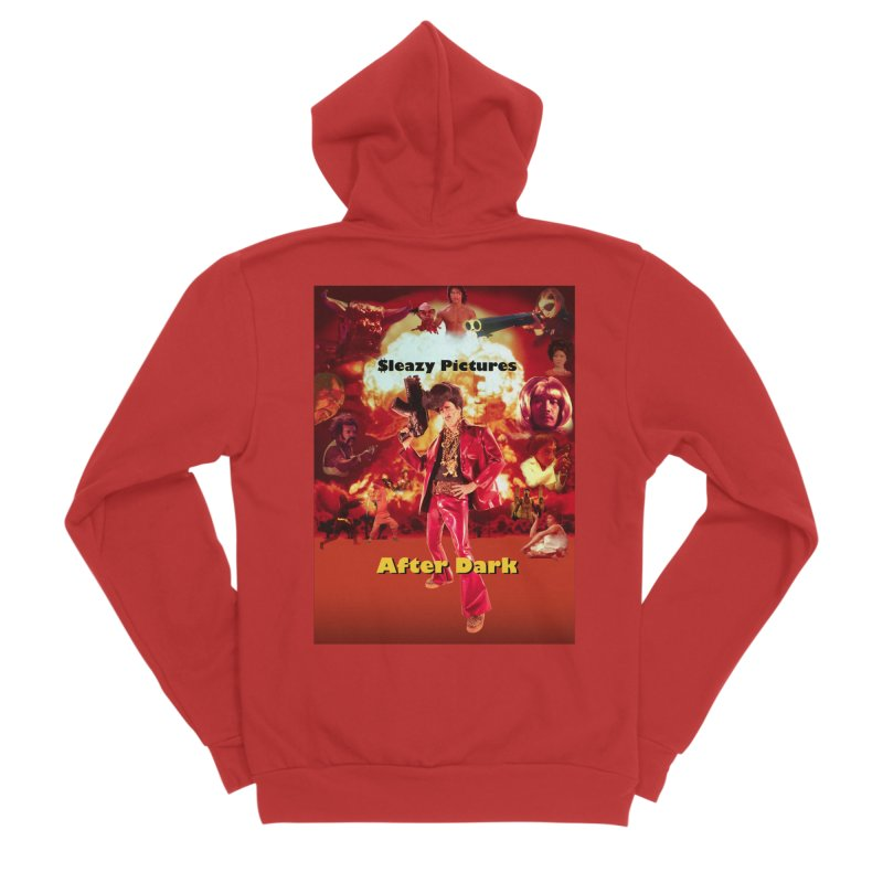 Sleazy Pictures After Dark Men's Zip-Up Hoody by sleazy p martini's Artist Shop