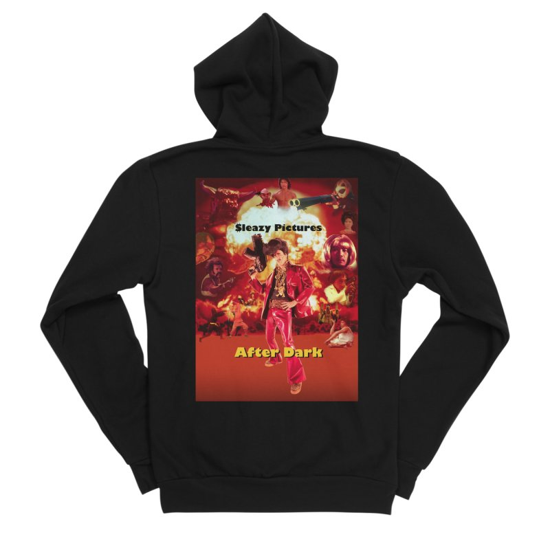 Sleazy Pictures After Dark Men's Sponge Fleece Zip-Up Hoody by sleazy p martini's Artist Shop