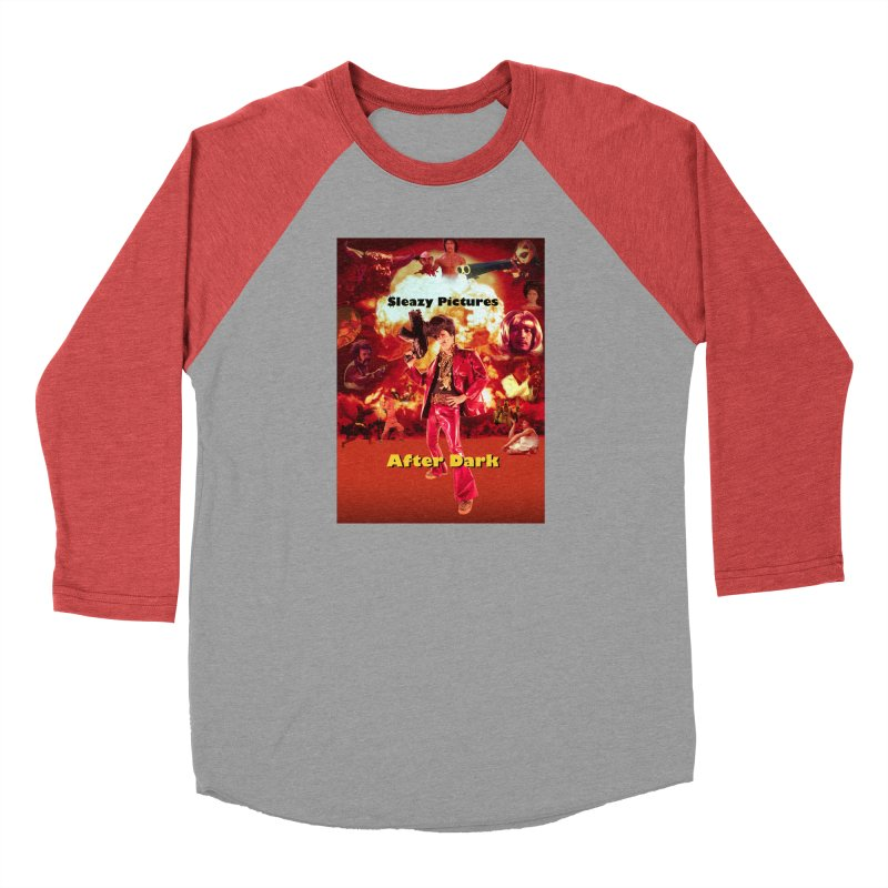 Sleazy Pictures After Dark Men's Baseball Triblend Longsleeve T-Shirt by sleazy p martini's Artist Shop