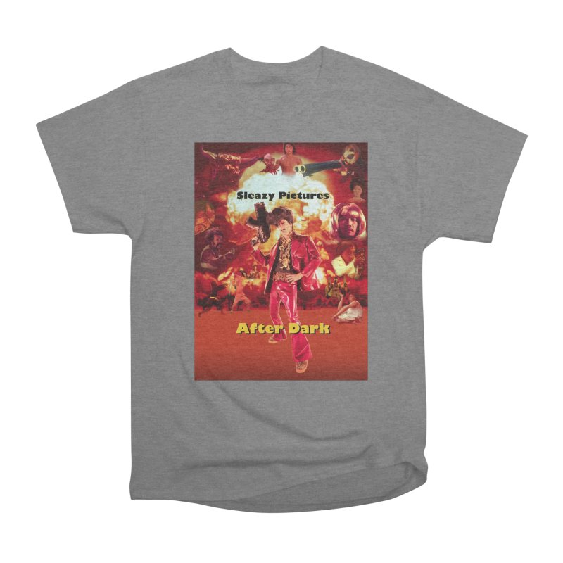 Sleazy Pictures After Dark Men's Heavyweight T-Shirt by sleazy p martini's Artist Shop