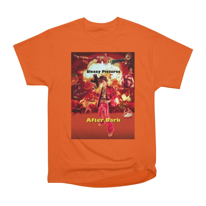 Sleazy Pictures After Dark Women's Heavyweight Unisex T-Shirt by sleazy p martini's Artist Shop