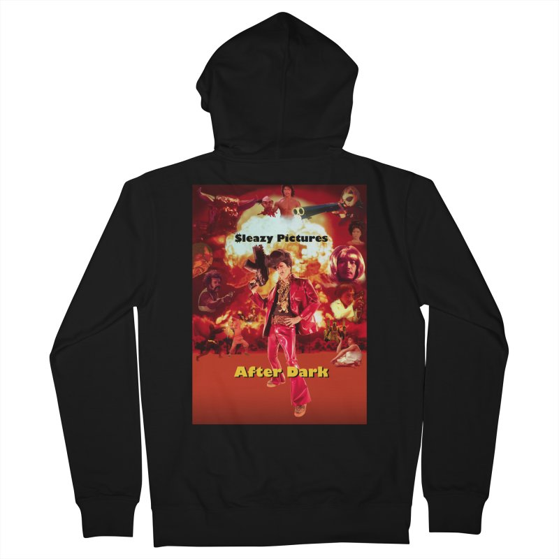 Sleazy Pictures After Dark Women's French Terry Zip-Up Hoody by sleazy p martini's Artist Shop
