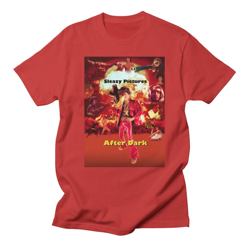 Sleazy Pictures After Dark Men's Regular T-Shirt by sleazy p martini's Artist Shop