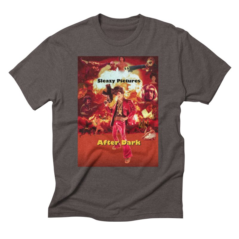 Sleazy Pictures After Dark Men's Triblend T-Shirt by sleazy p martini's Artist Shop