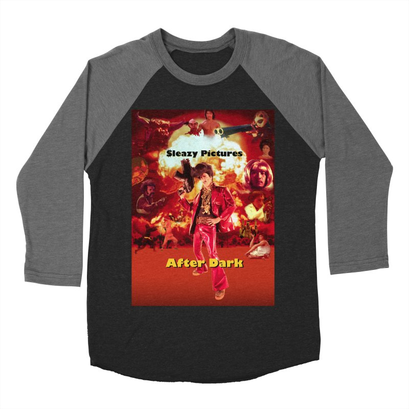 Sleazy Pictures After Dark Women's Baseball Triblend Longsleeve T-Shirt by sleazy p martini's Artist Shop