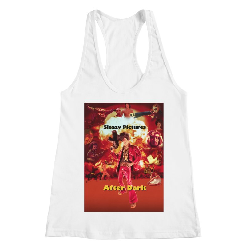 Sleazy Pictures After Dark Women's Racerback Tank by sleazy p martini's Artist Shop