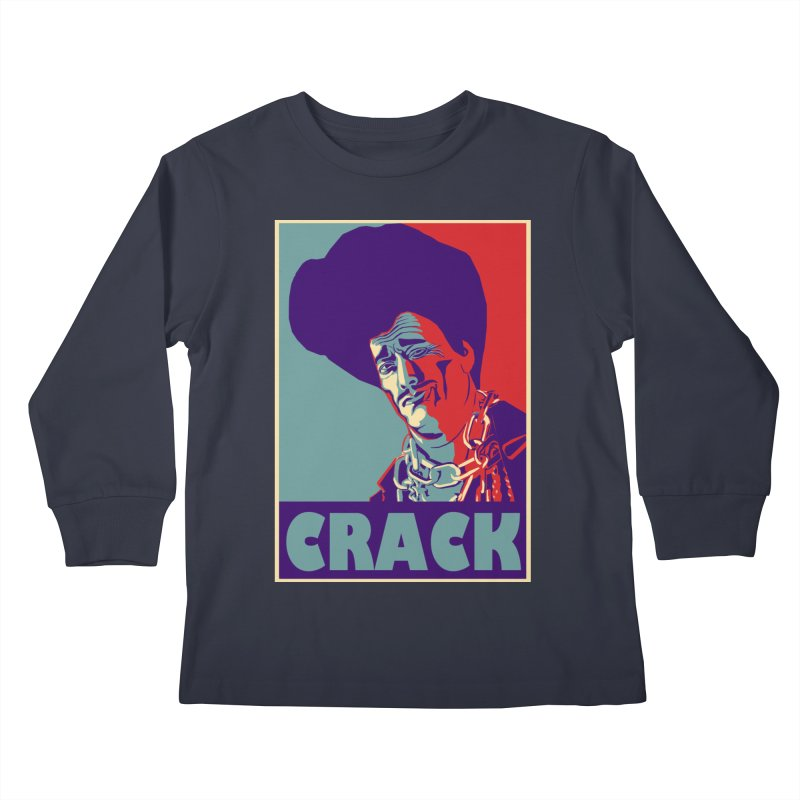 Crack Kids Longsleeve T-Shirt by sleazy p martini's Artist Shop