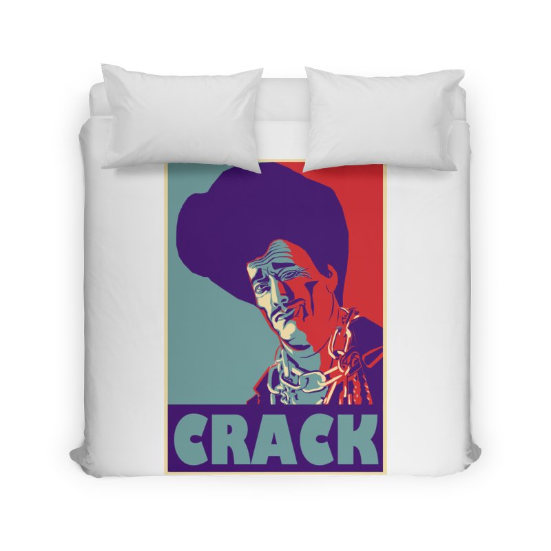 Crack Home Duvet by sleazy p martini's Artist Shop