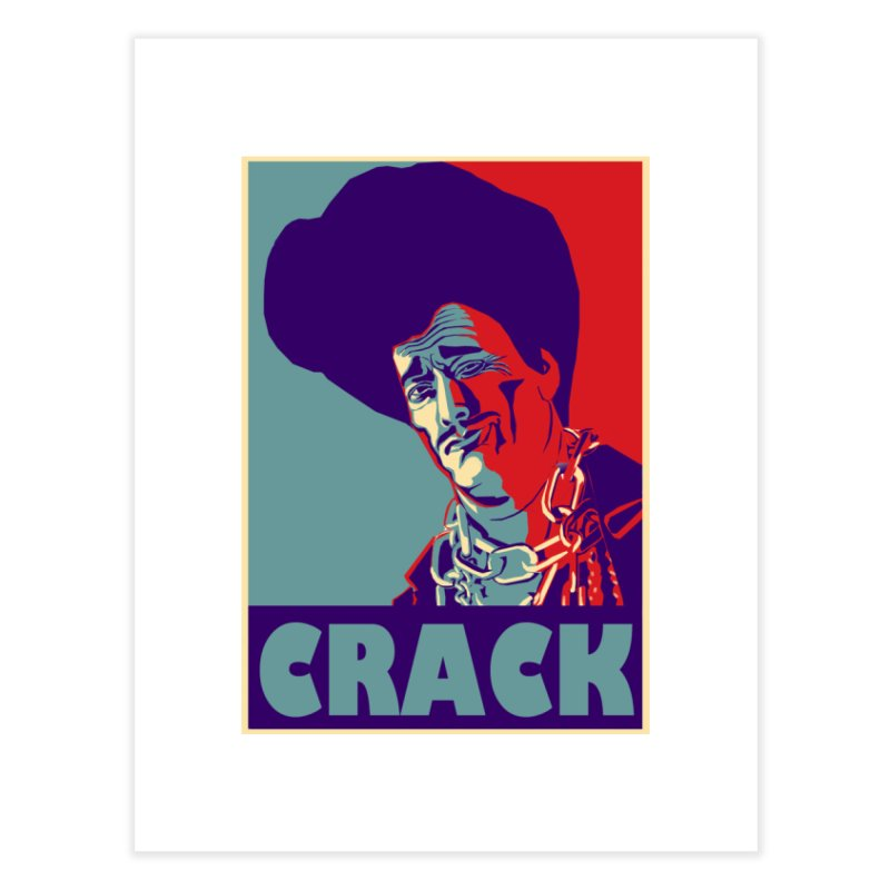 Crack Home Fine Art Print by sleazy p martini's Artist Shop
