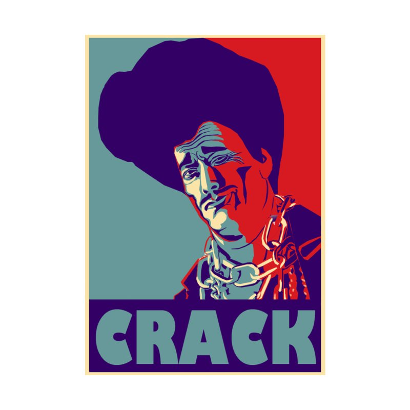 Crack Men's T-Shirt by sleazy p martini's Artist Shop