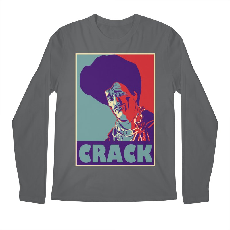 Crack Men's Longsleeve T-Shirt by sleazy p martini's Artist Shop