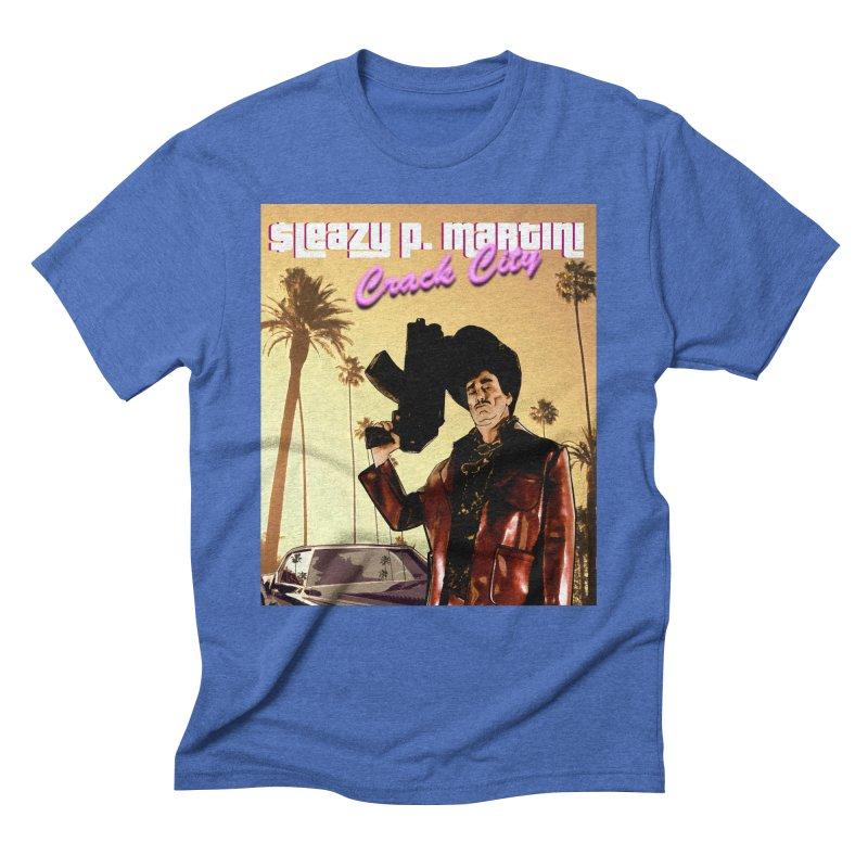 Sleazy P Martini Crack City Men's T-Shirt by sleazy p martini's Artist Shop