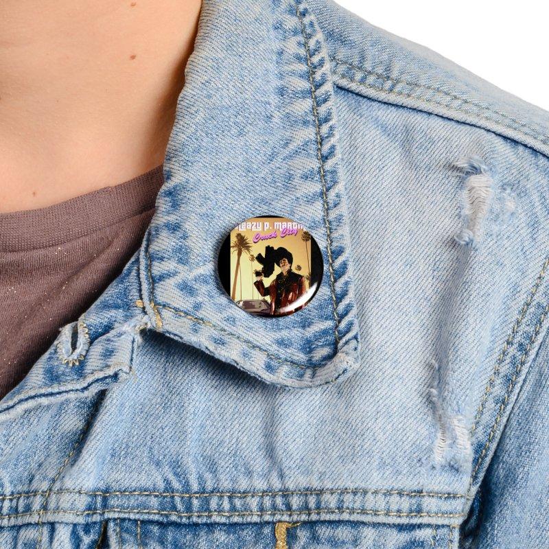 Sleazy P Martini Crack City Accessories Button by sleazy p martini's Artist Shop
