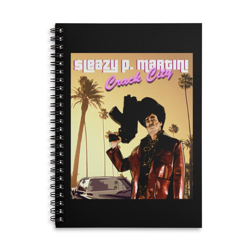 Sleazy P Martini Crack City Accessories Notebook by sleazy p martini's Artist Shop