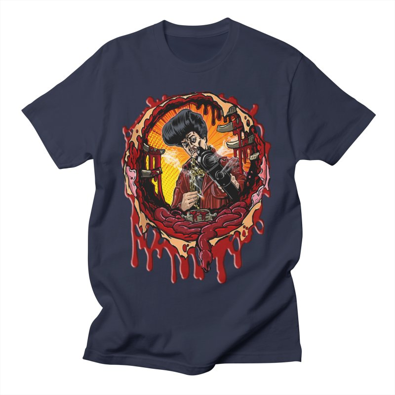 Sleazy Bullet Hole Men's T-Shirt by sleazy p martini's Artist Shop