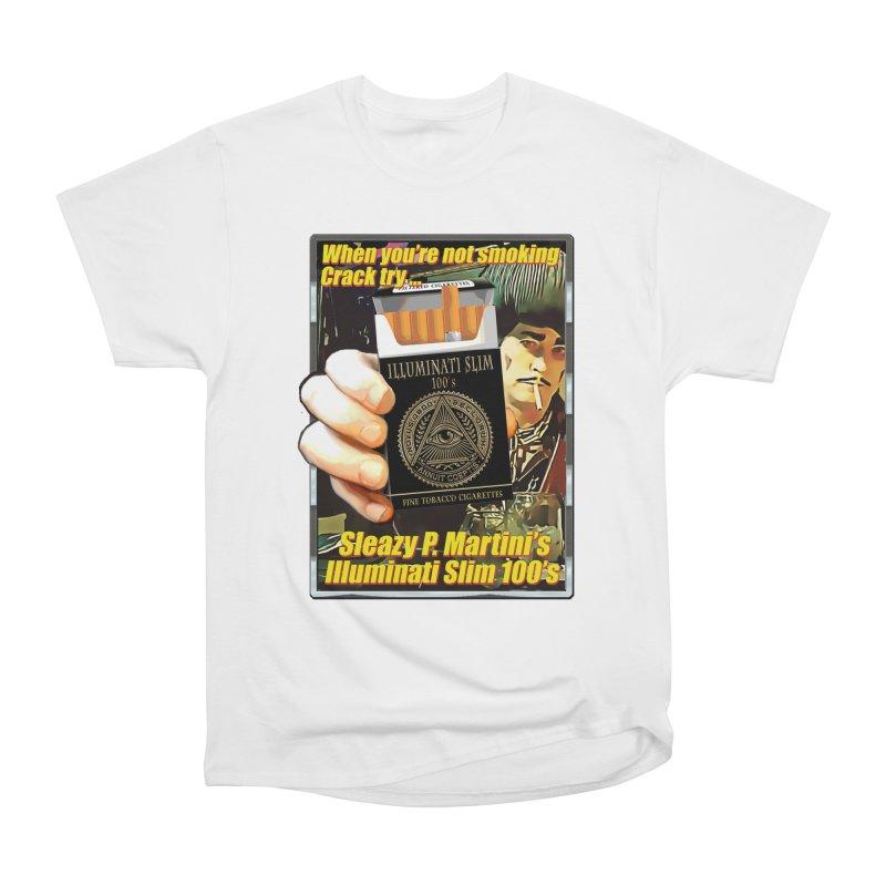 Sleazy's Illuminati 100's Women's T-Shirt by sleazy p martini's Artist Shop
