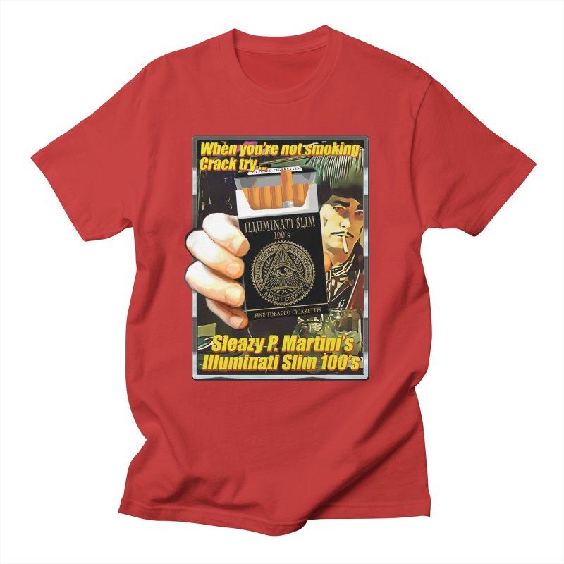 Sleazy's Illuminati 100's Men's T-Shirt by sleazy p martini's Artist Shop