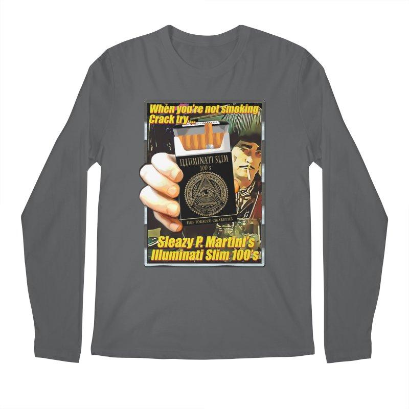 Sleazy's Illuminati 100's Men's Longsleeve T-Shirt by sleazy p martini's Artist Shop