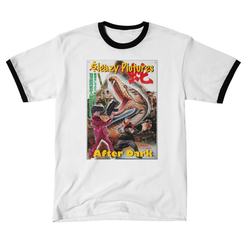 Sleazy Pictures Calamity of Snakes Men's T-Shirt by sleazy p martini's Artist Shop