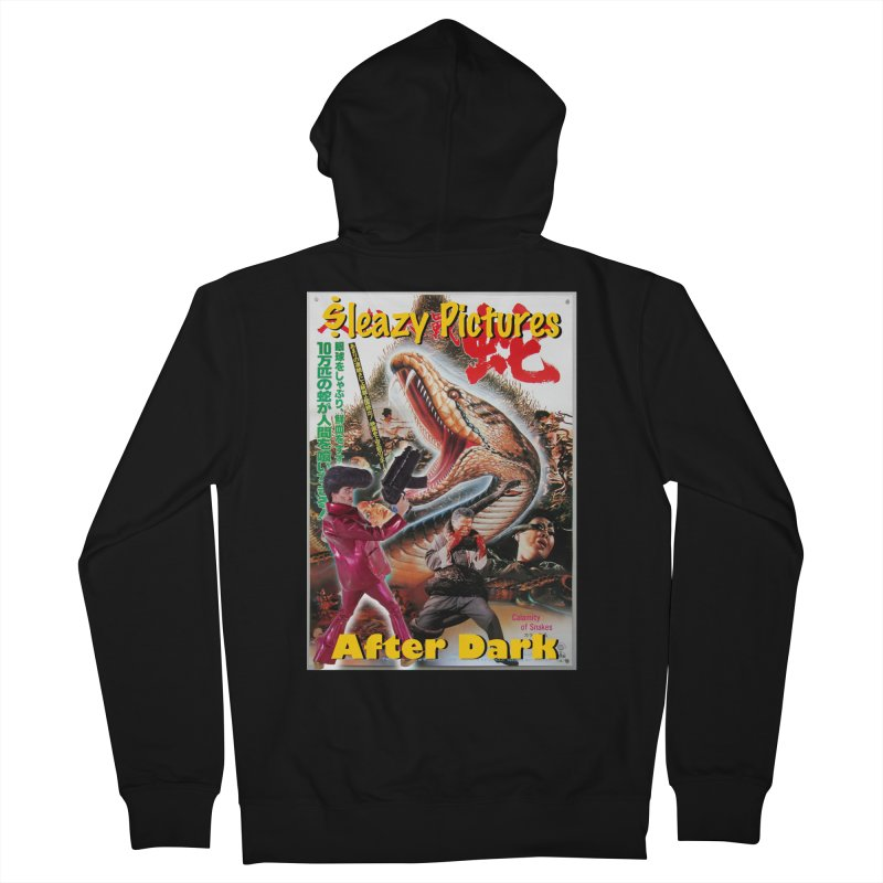 Sleazy Pictures Calamity of Snakes Men's Zip-Up Hoody by sleazy p martini's Artist Shop
