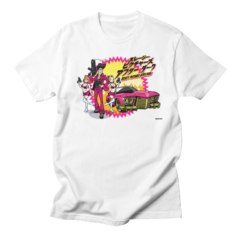 Sleazy Pictures Manga Style Men's T-Shirt by sleazy p martini's Artist Shop
