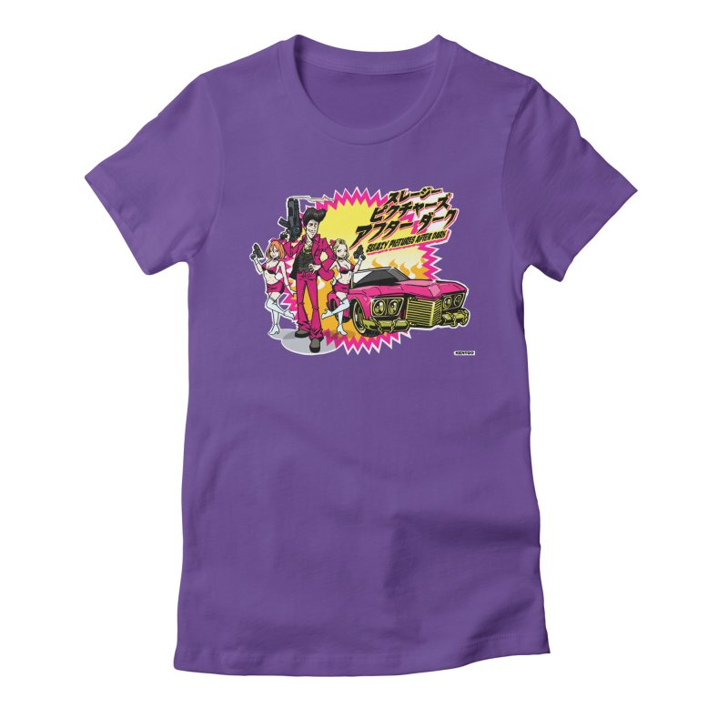 Sleazy Pictures Manga Style Women's T-Shirt by sleazy p martini's Artist Shop