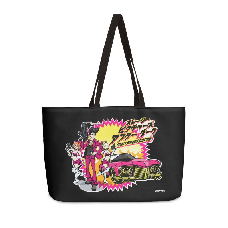 Sleazy Pictures Manga Style Accessories Weekender Bag Bag by sleazy p martini's Artist Shop