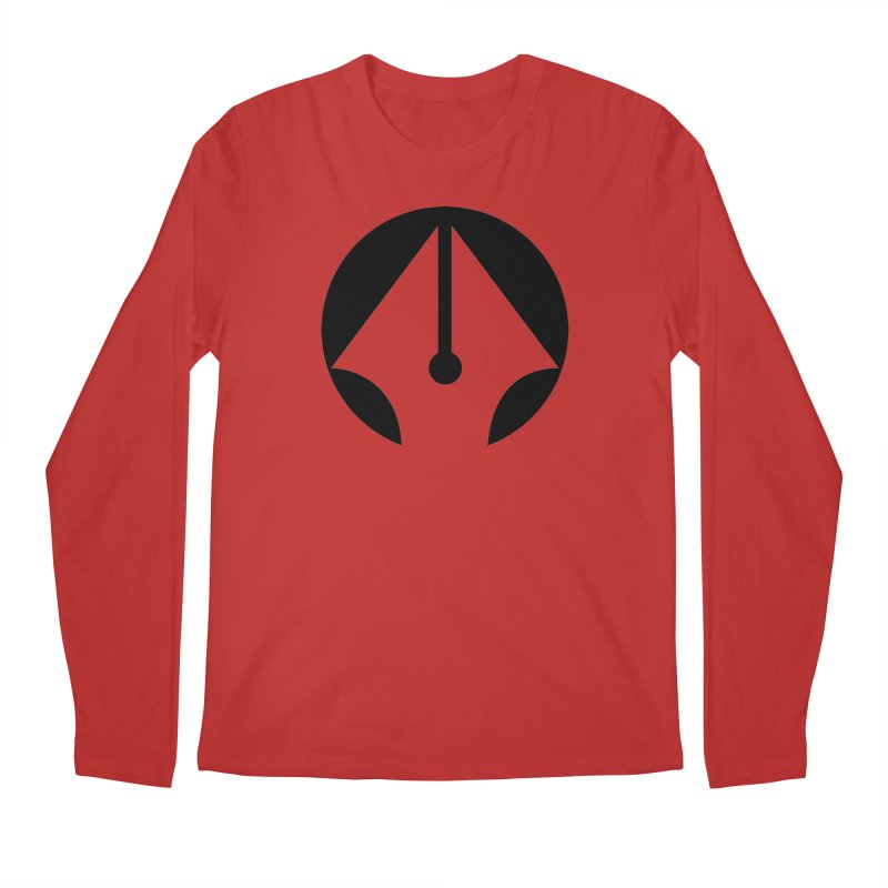 Pen Men's Regular Longsleeve T-Shirt by sleekandmodern's Artist Shop
