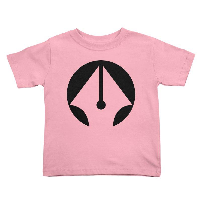 Pen Kids Toddler T-Shirt by sleekandmodern's Artist Shop