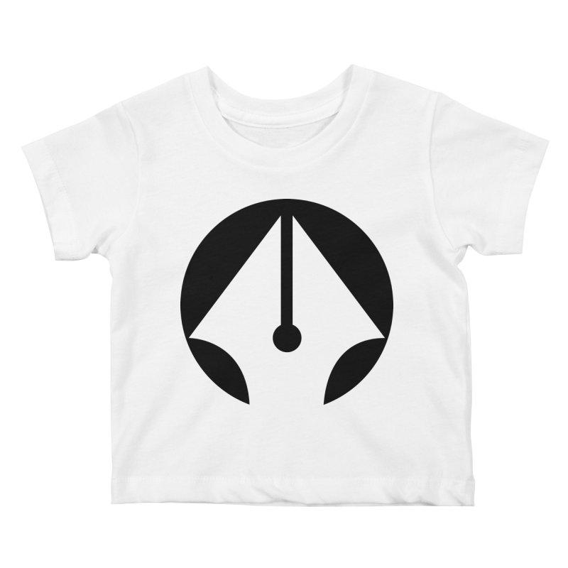 Pen Kids Baby T-Shirt by sleekandmodern's Artist Shop