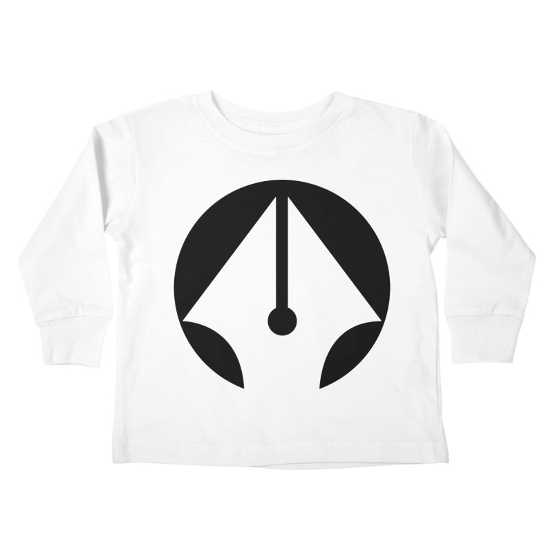 Pen Kids Toddler Longsleeve T-Shirt by sleekandmodern's Artist Shop