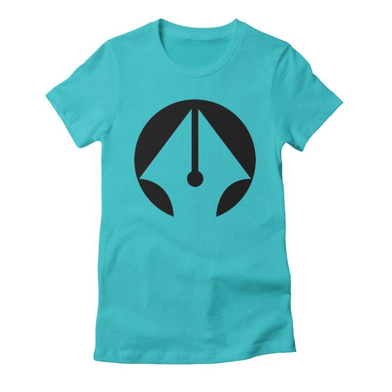 Pen Women's Fitted T-Shirt by sleekandmodern's Artist Shop
