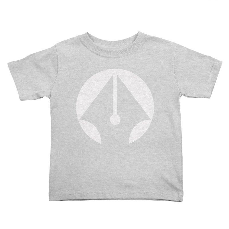 Pen (White) Kids Toddler T-Shirt by sleekandmodern's Artist Shop